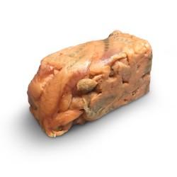 Куски лосося полосками б/ш с/м в вакуумной упаковке (1 кг)