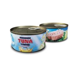 Тунец консервированный в масле ж/б (185 грамм)
