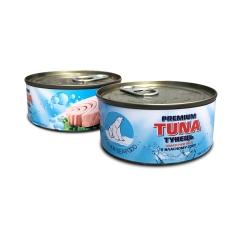 Тунец консервированный в собственном соку ж/б (185 грамм)