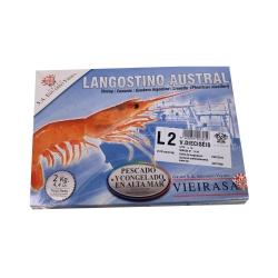 Креветка аргентинская с головой 21-30 L2 Eduardo Vieira (2 кг)